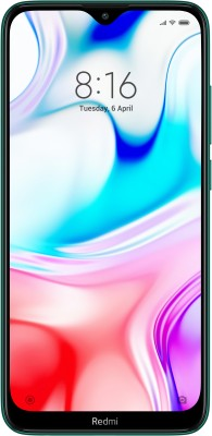 Redmi 8 (Emerald Green, 64 GB)